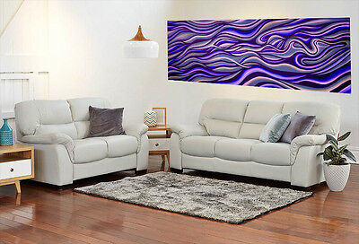 Art abstract purple haze original painting framed print canvas jane crawford