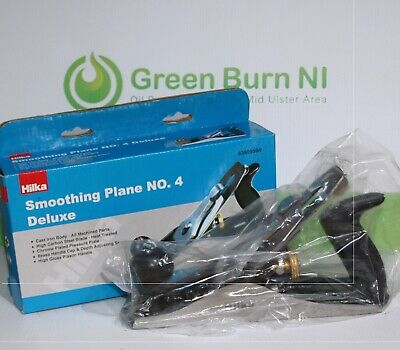 *New and unused Hilka No. 4 Deluxe Smoothing Wood Plane New in Box