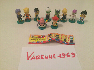 Dolci Preziosi Dragon Ball Z Serie Con Basette + Cartina