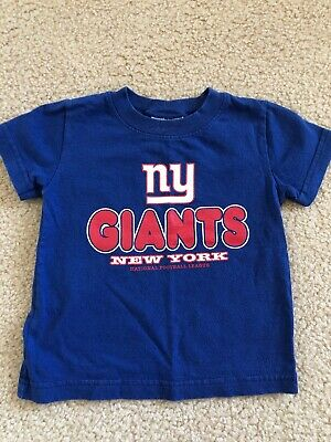 Toddler Boys NY Giants Football T Shirt Size 3T