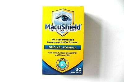 Macushield Original Formula Food Supplement - Contains LMZ3 - 30 Day Pack