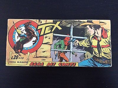 Tex Stripes Serie Alabama N.29 Page Dei Conti - Mint Condition