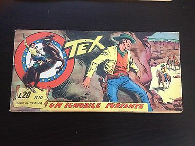 Tex Stripes Serie California N.10 Un Ignoble Scamp - Mint Condition