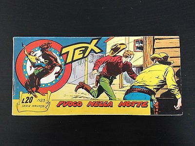 Tex Stripes Serie Navajo N.23 Fire in the dark - Mint Condition