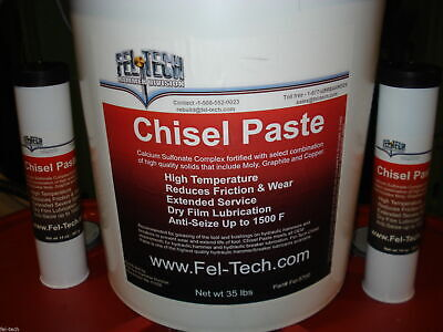 Hydraulic Hammer Chisel Paste Tubes 16 Pack