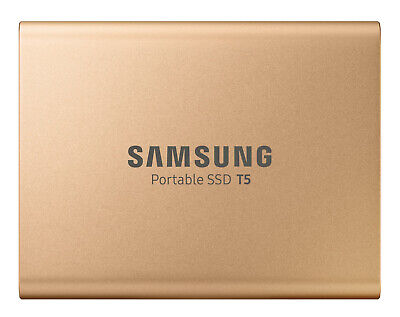 New Samsung - MU-PA500G/WW - 500GB Portable SSD T5 - Rose Gold