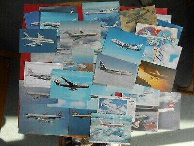 American Airlines Post Cards, PAN AM, TWA, Delta etc Please see photos Aviation