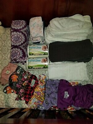 Cloth diapers, wipes, liners, flushable liners, inserts lot