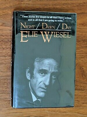 Elie Wiesel Night / Dawn / Day Trilogy Autographed SIGNED 1st Edition Pulitzer