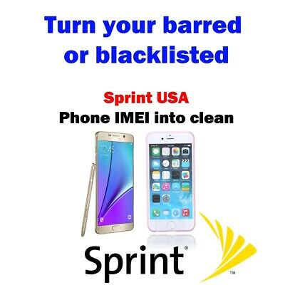 Sprint Usa Unbarring / Cleaning Service Premium