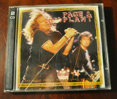Jimmy Page & Robert Plant: Lake Shore Arena, New Orleans 1998