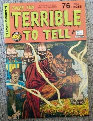 TALES TOO TERRIBLE TO TELL 4 ELECTRIC CHAIR NM VOODOO EERIE