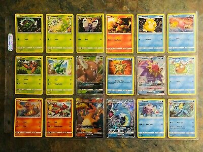 Pokemon Tcg: Sm Hidden Fates - Complete Base Set Incl Gx/full Art - All 69 Cards