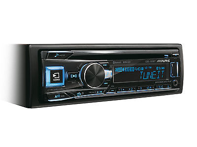 Autoradio Tuner Alpine CDE-193BT CD / Fm / USB/ MP3/ Wma Bluetooth Verzögerungen