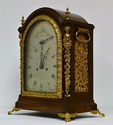 A Fine 18th Century Musical Bracket Clock By John Lloyd Of London Circa 1780