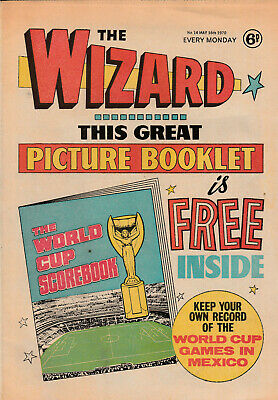 THE WIZARD Comic 16 May 1970 - Football & Adventures