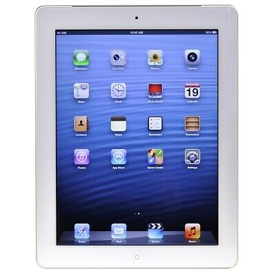 Apple iPad with Wi-Fi + Cellular 16GB - White - AT&T (3rd generation) - B Grade