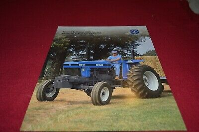 New Holland 5610 6610 7610 7810 Tractor Brochure AMIL15 ver7