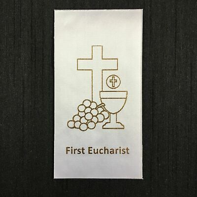 DIY FIRST EUCHARIST Holy Communion (F) Sacrament Motif Iron-On/Sew-On for stole
