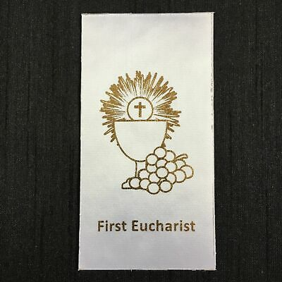 DIY FIRST EUCHARIST Holy Communion (D) Sacrament Motif Iron-On/Sew-On for stole