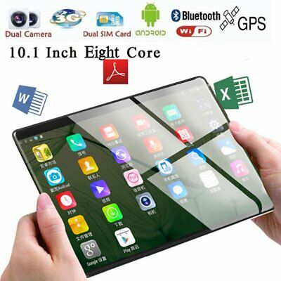 10.1'' Tablet PC Android 7.0 Octa Core 2+32GB HD Wifi 2 SIM 3G Phablet Lot X3