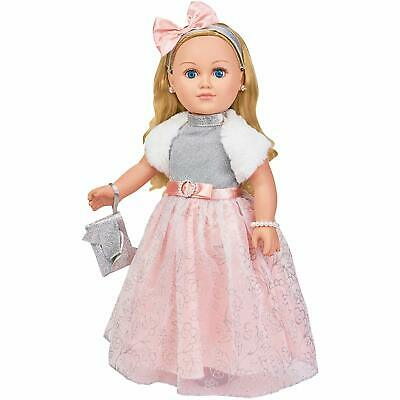 "My Life As Winter Princess Doll 18"" Blonde 2018 Holiday Exclusive NEW"