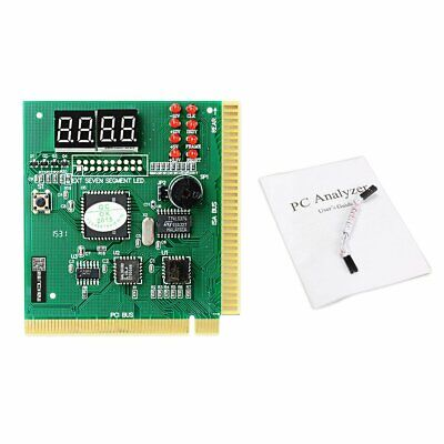 Maikou PCI PC Diagnostic Analyzer 4 Digit Card Motherboard Post Tester WO