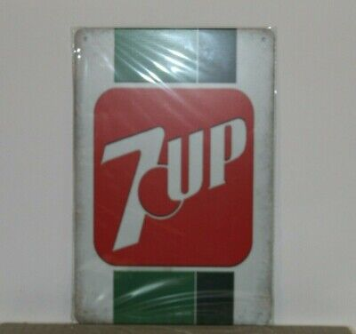 7UPMS2 7 UP Metal Sign New 30 cm H X 20 cm W