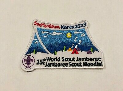 25th World Scout Jamboree 2023 Official patch: KOREA