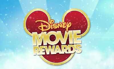 500 Disney Movie Rewards DMR Codes Incredibles 2, Finding Nemo Blu-ray Points