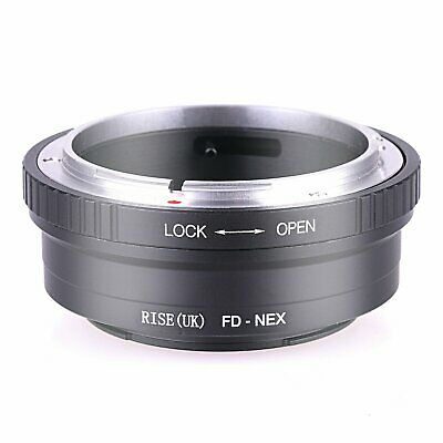 Canon FD Lens to Sony NEX E Mount NEX-3 5 7 5n 5r 6 5T 3F 3C A7r Adapter Ring