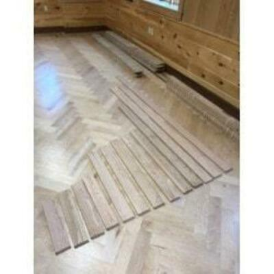 Flat Sawn / North American Red Oak / Select / unfinished - Sample