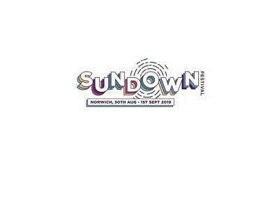 Sundown Festival Weekend No Camping Ticket - 30 August to 1st September 2019.