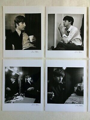 The BEATLES: SIGNED Photographs x6 (JANE BOWN) - Backstage at East Ham in 1963