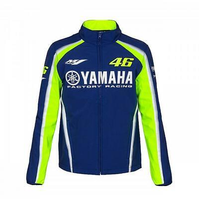 2018 VR46 Valentino Rossi #46 MotoGP Mens Softshell Jacket Yamaha Factory Racing