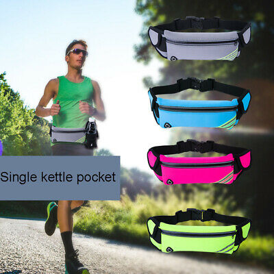 Running Belt Unisex Sport Jogging Phone Keys Mobile Money Bum Bag Waist Travel
