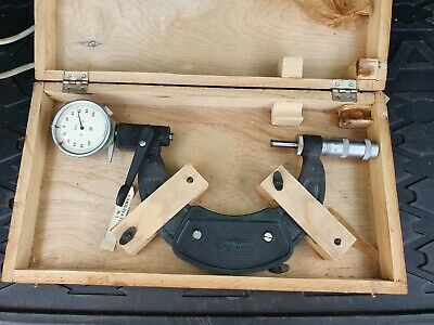 Micrometer With Dial Indicator 100-125 mm 0.002mm NEW USSR