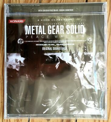 Metal Gear Solid Peace Walker Neuf Sous Blister Original Soundtrack Ost New Mgs