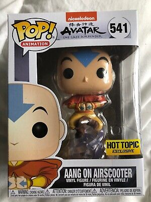Funko Pop! Aang On Airscooter Avatar The Last Airbender Hot Topic #541