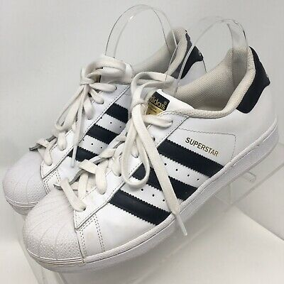 Adidas Originals Men's ' Superstar 80s Shoes, WhiteVapour GreenOff White, 8 M US