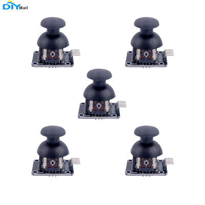 5xDIYmall PS2 Breakout Module Shield JoyStick Axis Game Controller For Arduino