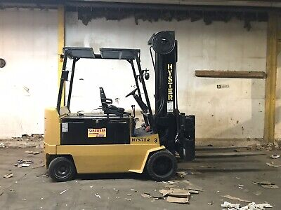 Electric Hyster Forklift