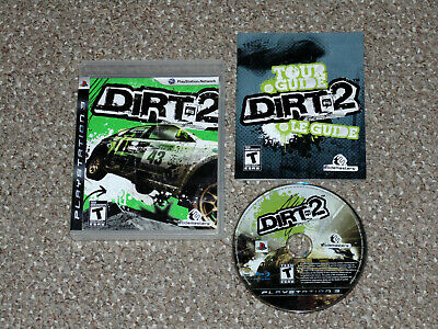 DiRT 2 Sony PlayStation 3 PS3 Complete
