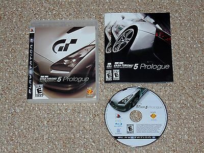 Gran Turismo 5 Prologue Sony PlayStation 3 PS3 Complete Black Label