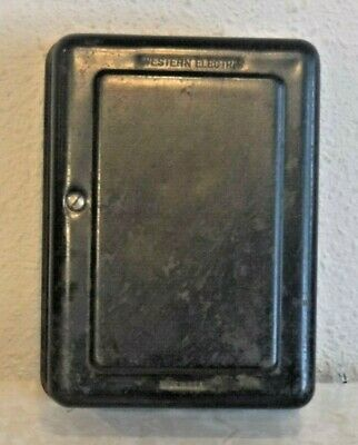 Western Electric Black Subset Ringer Box Wired and Working Model 334 A Vintage
