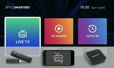 IPTV Subscription 12 months - Firestick,Android Box,Mag box TV +30000 CH/VOD /SE