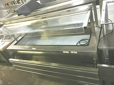 Steam Table Serving Buffet Delfield w/t Sneeze Guard Electric 60''x 34''x 58'' H