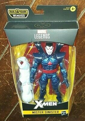 Marvel Legends MR X-MEN +Wendigo BAF Part SINISTER VHTF 2019 NEW MISB