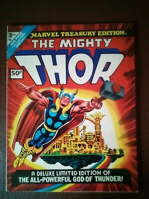 Marvel Treasury Edition - No.3 - 1974 - The Mighty Thor