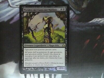 1X Maralen of the Mornsong - Morningtide - * Foil, Italian SEE PICTURE* MTG CARD